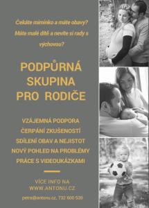 Plakát podpůrná skupina
